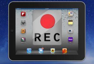 Как записать видео с экрана iPad