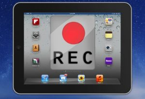 Запись видео с экрана iPad