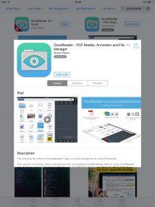 Приложение GoodReader