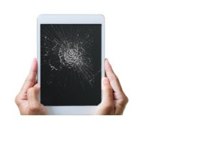 Разбитый экран планшета