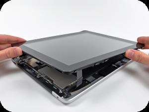 Как заменить стекло на iPad