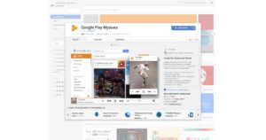 Расширение Google Play Музыка