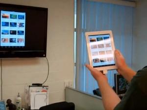 Подключение с помощью Apple TV