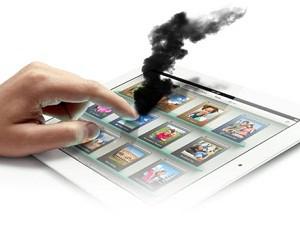 Если нагревается iPad