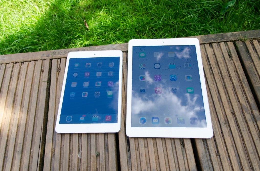 Cравнение iPad c iPad mini 2 фото